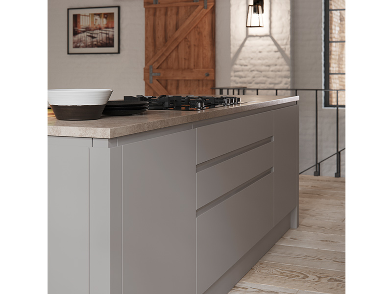Lloyds Aconbury Silver Grey Contemporary Kitchens