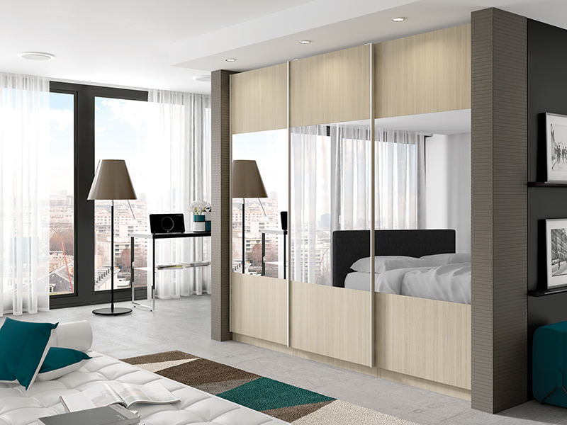 Lloyds Avola Champagne with Sliders Bedroom