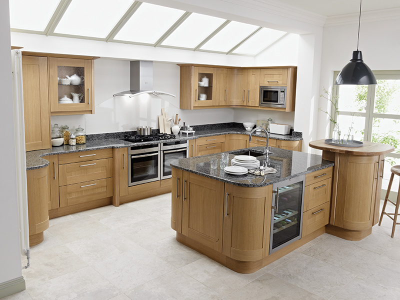 Lloyds Broadoak Natural Classic Kitchen