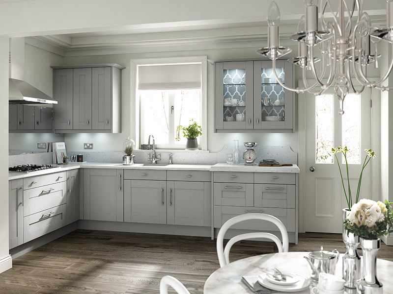 Lloyds Broadoak Partridge Grey Classic Kitchen