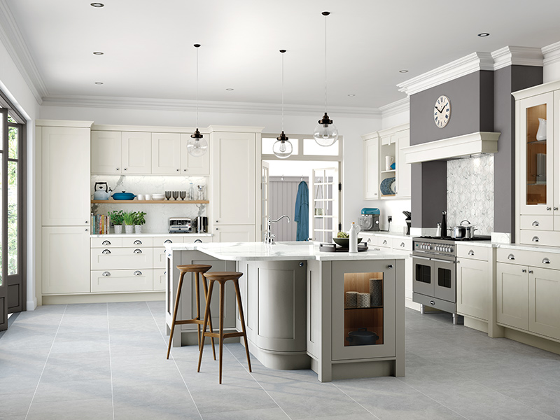 Lloyds Georgian Painted Porcelain Classic Kitchen