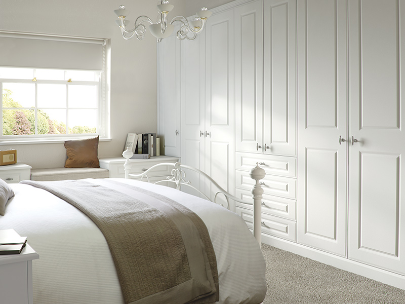 Lloyds Georgian Smooth White Bedroom