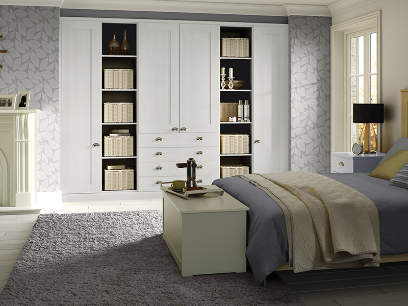 LLoyds Pendle White Bedroom