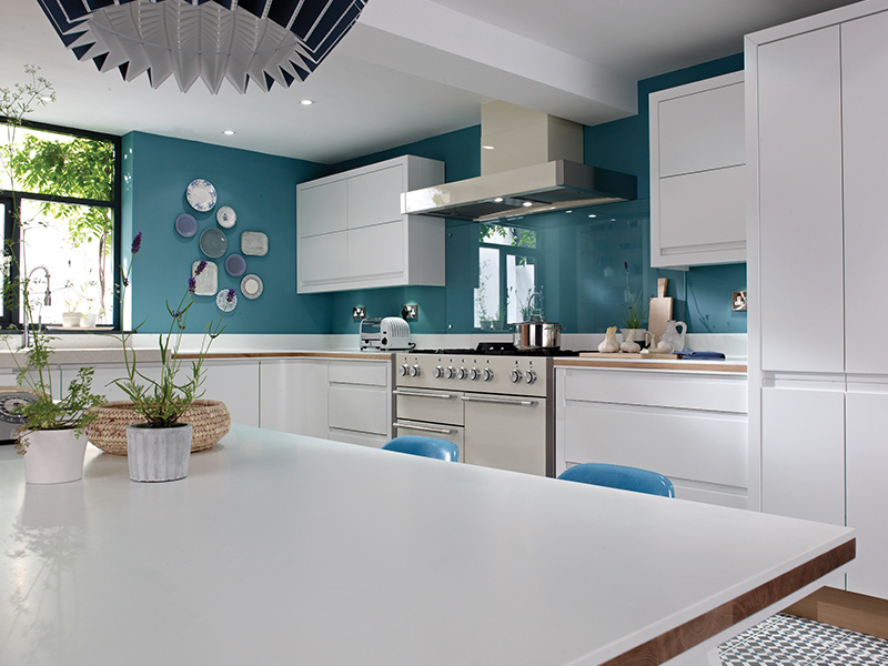Lloyds Remo Matt White Contemporary Kitchens