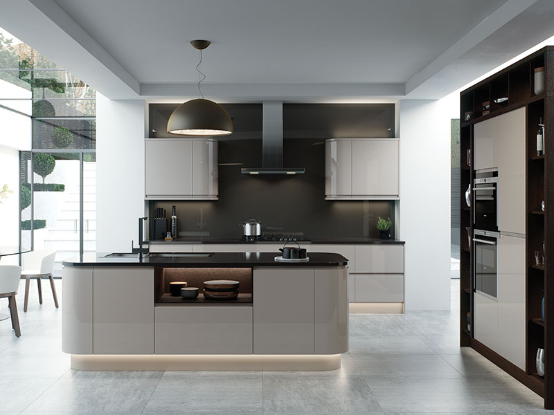 Lloyds Strada Cashmere Contemporary Kitchens