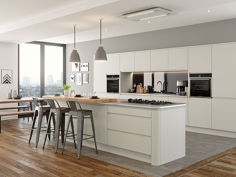 Lloyds Strada Matt Porcelain Contemporary Kitchens