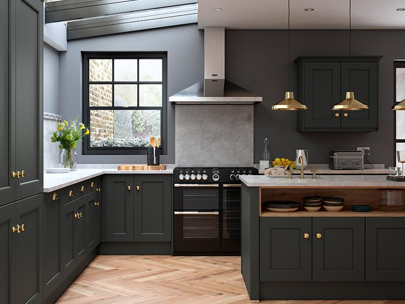 Lloyds Allestree Bespoke Painted Slate Grey Kitchen