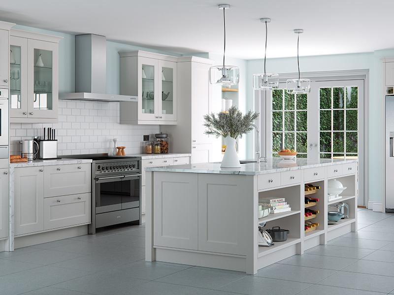 Lloyds Florence Light Grey Kitchen