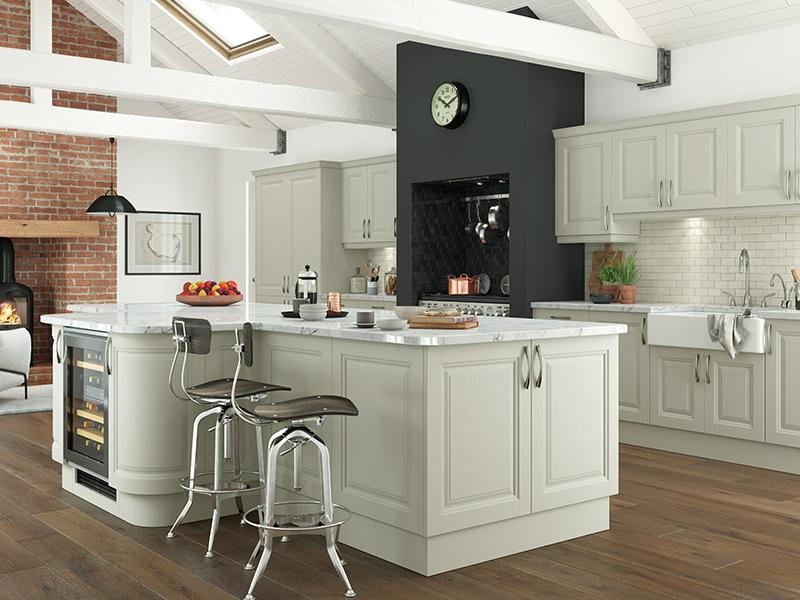 Lloyds Jefferson Painted Mussel Kitchen