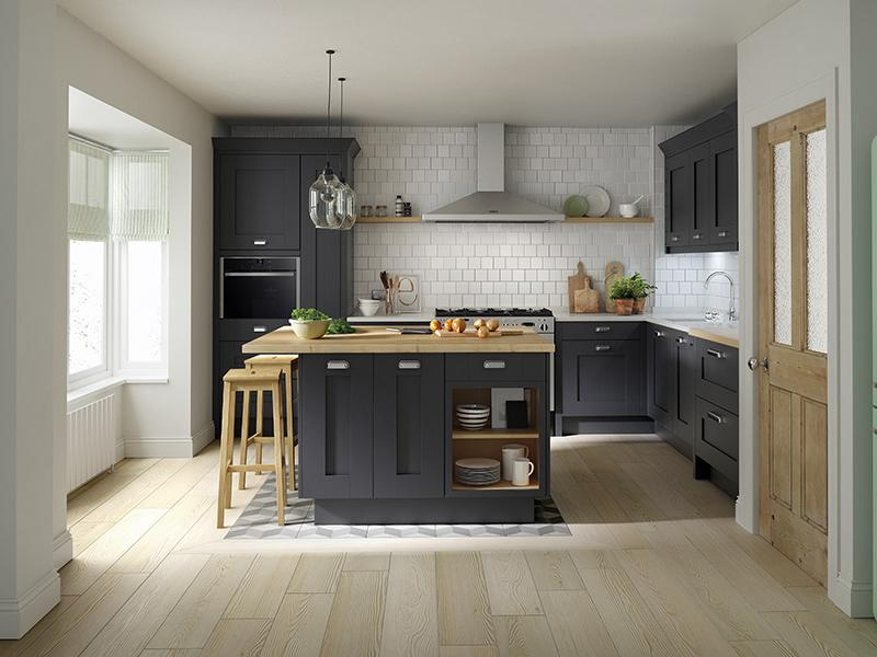 Lloyds Milbourne Charcoal Kitchen
