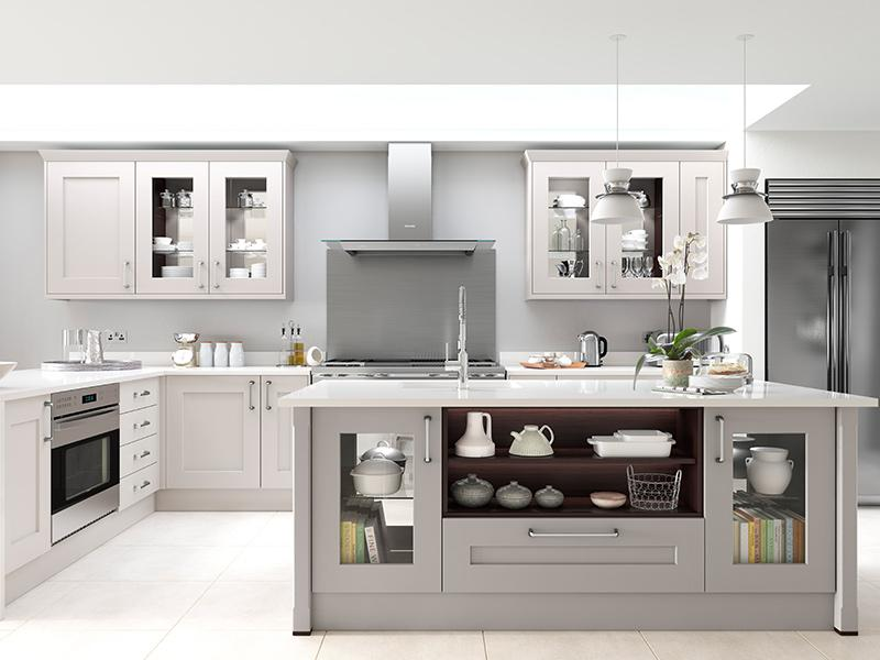 LLoyds Rivington Bespoke Calico Dove Grey Kitchen