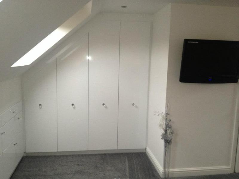 Lloyds Made to Measure Loft Storage Cupboards